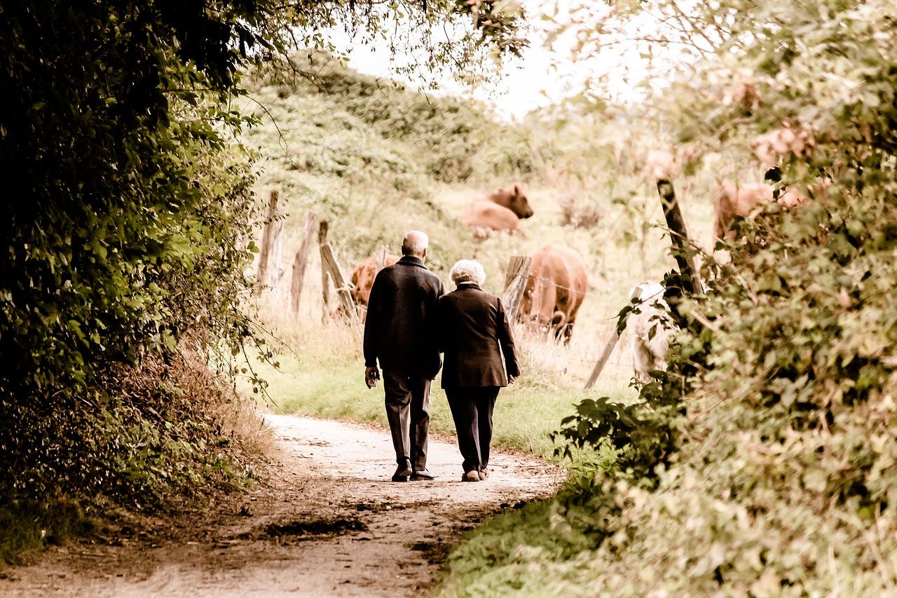 Der Wanderweg macht die Wanderausrüstung - auch für Senioren