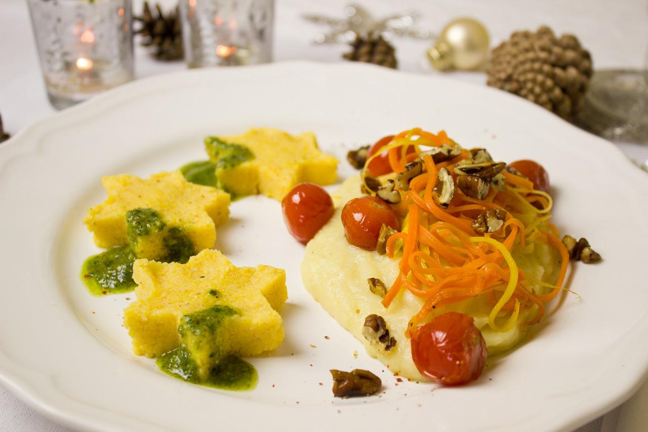 Veganes oder Vegetarisches Weihnachtsmenü als gesunde Alternative zum Weihnachtsbraten
