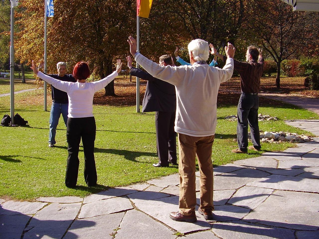 Seniorengymnastik - für die Gesundheit wichtig