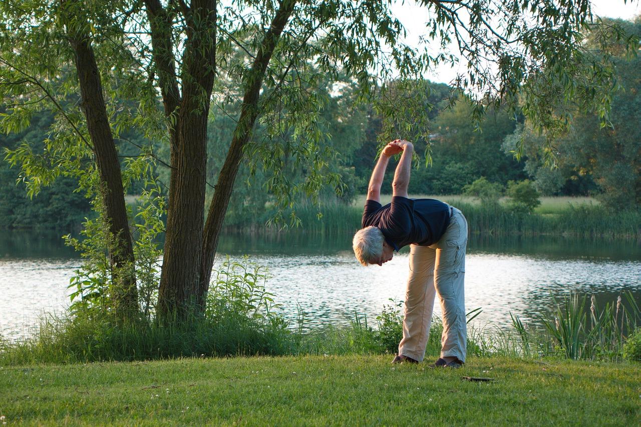 Gymnastik für Senioren hält jung und fit