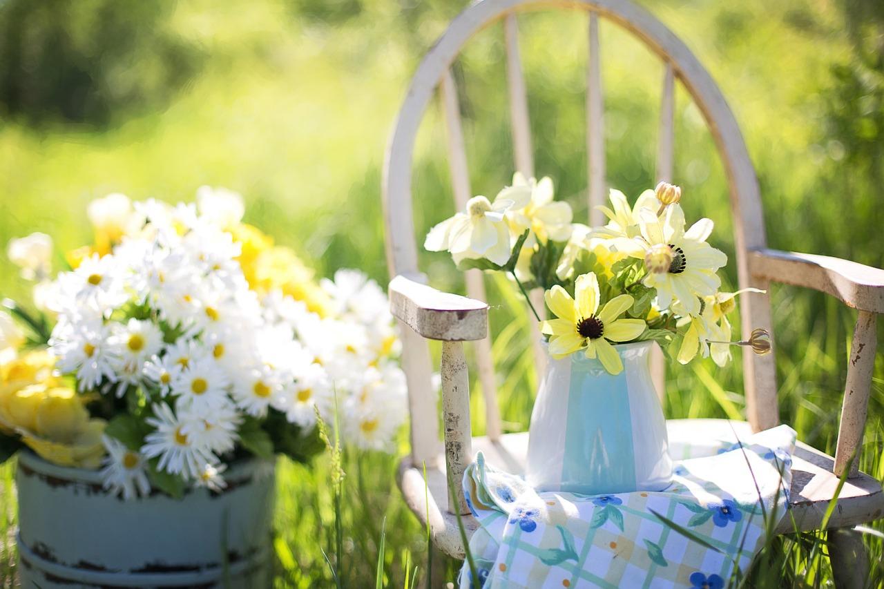 Der Garten für Senioren bietet viel Ruhe und Entspannung