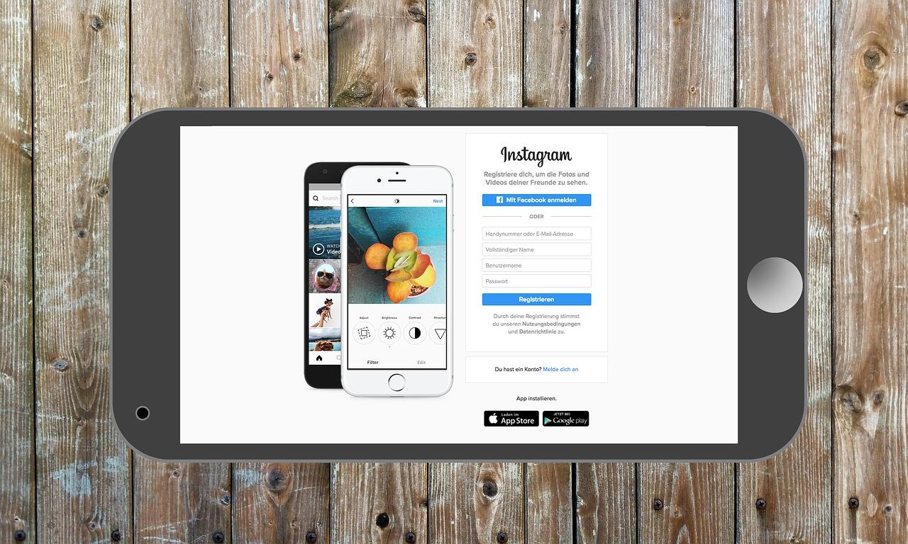 seniorengerechte Anleitung für Instagram