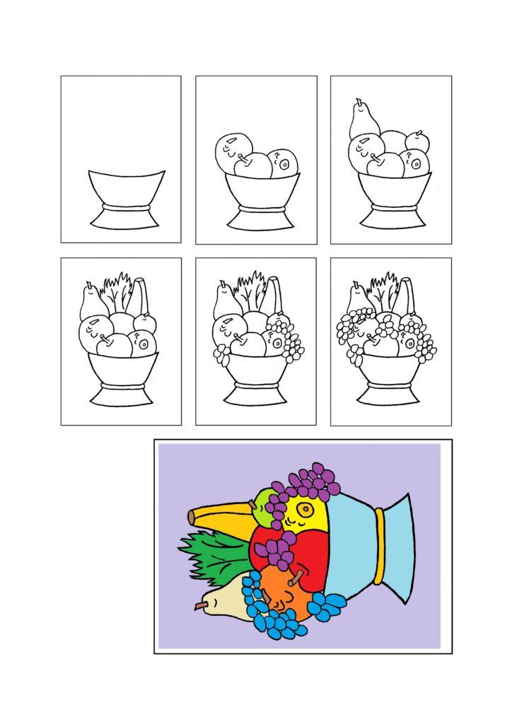 Motiv aus Kreativbuch für Seniroen