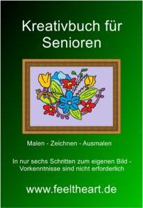 """Das Buchcover zum """"Kreativbuch für Senioren"""""""