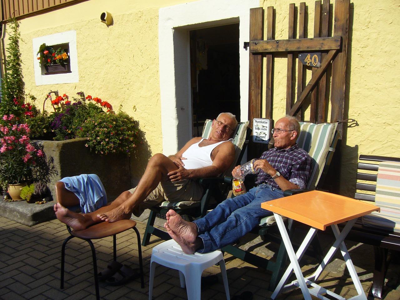 regelmäßige Entspannung ist im Alter sehr wichtig