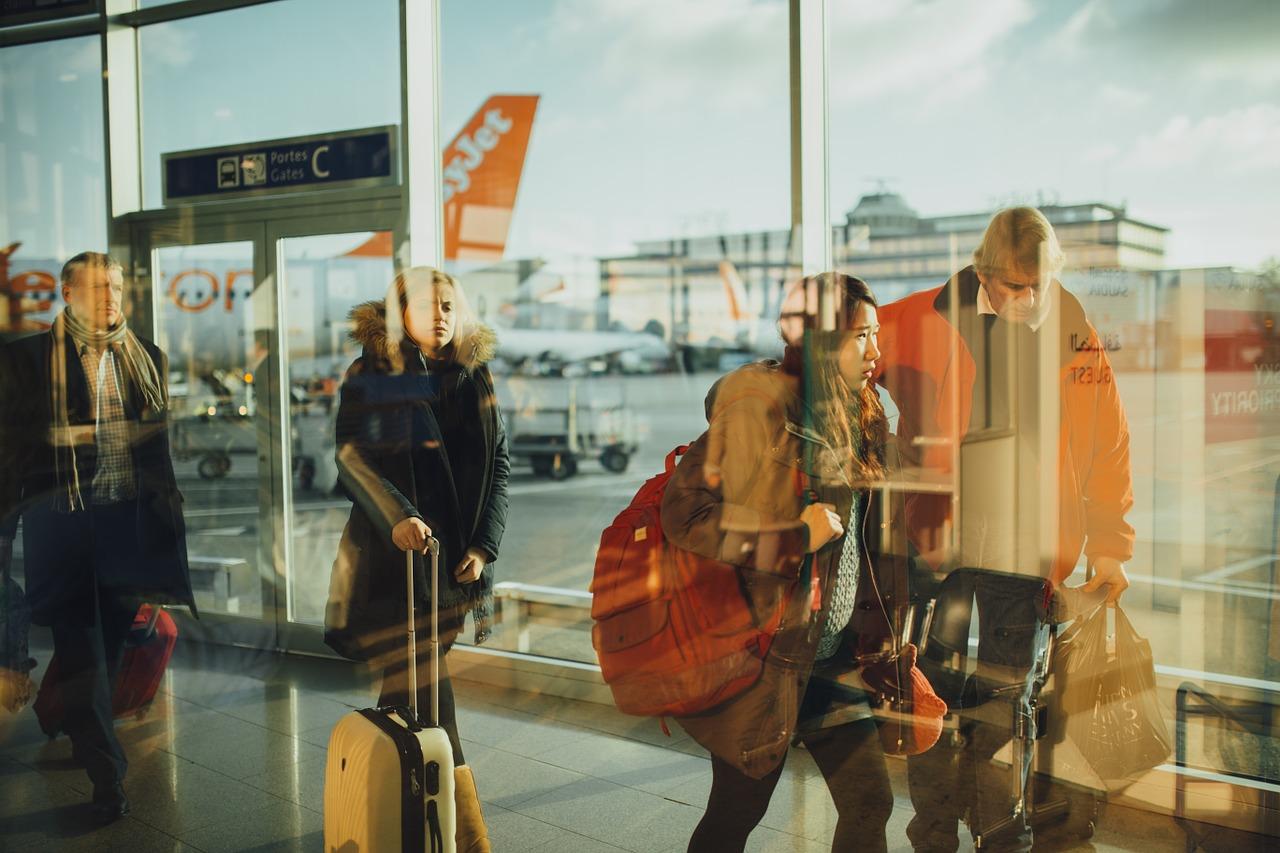 Flugreisen im Alter