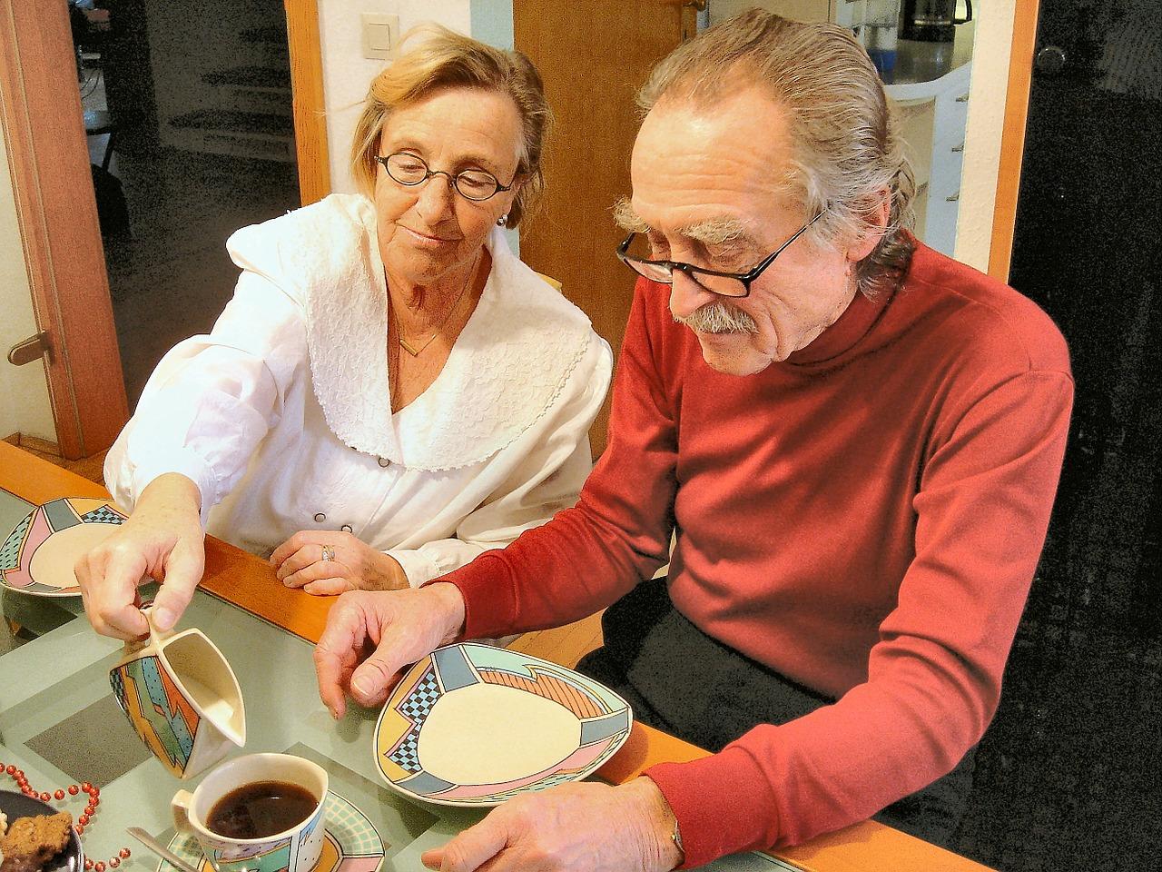 Testen Sie eine Senioren Wohngemeinschaft in einem Seminar